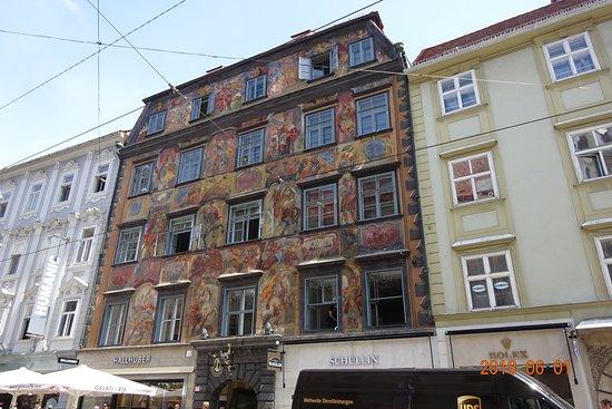 Gemaltes Haus