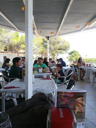 Pulpi, Hiszpania: Restaurante bar Origen