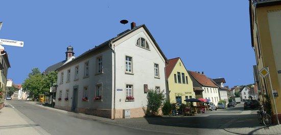 Lörzweiler, Rathaus und Dorfladen