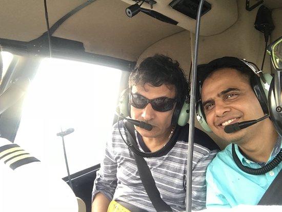Privéhelikoptertour door New York met champagne: My friends in the chopper1