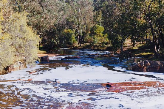 Gidgegannup, Australia: View from the falls