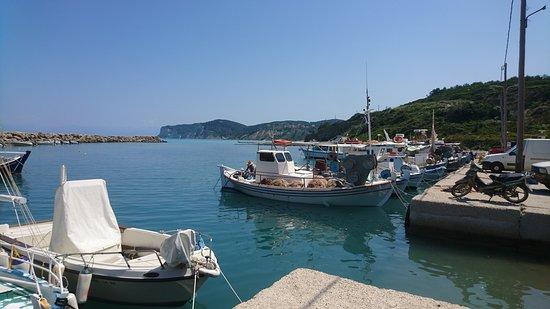 Agios Stefanos, Grecja: Port d'Agios Stéfanos