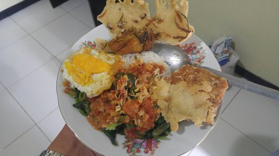 Sarangan, Indonesia: Breakfast