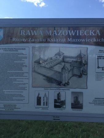 Zamek Rawa Mazowiecka