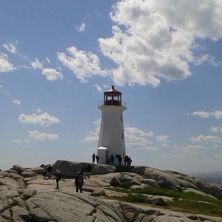 Peggy's Cove, Kanada: lighthouse at Peggys Cove