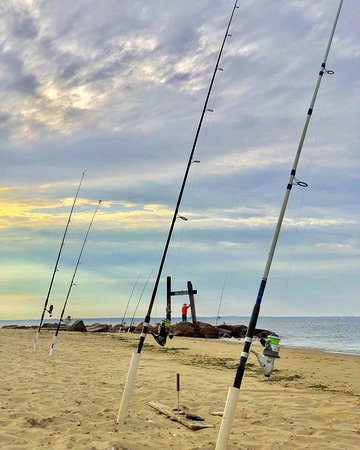 Middletown, نيو جيرسي: fisherman's paradise, this beach is known for its quite tranquil fishing zones
