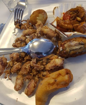 Osteria dei Marinai: antipasti:i fritti