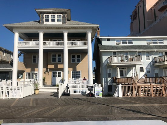 Lankford Hotel From The Boardwalk Entrance To Ocean City Md Oceancitycool