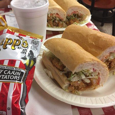 Johnny Po Boy Restaurant New Orleans