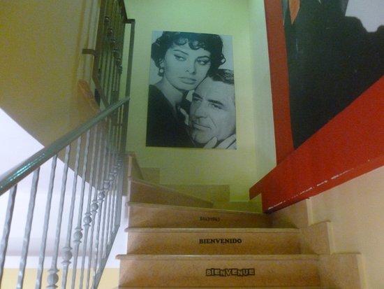 Hotel CineHoliday: Stairway