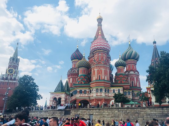 Walks With Folks: Basil Cathedral