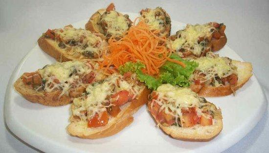 Costa Maya, México: Servicio de Cena