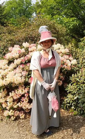 Disley, UK: I wandered the gardens for hours dressed as Lizzie