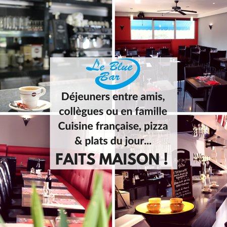 Chilly-Mazarin, Frankrike: Profitez de déjeuners entre amis, collègues ou en famille, cadre chaleureux. Tout est fait maiso