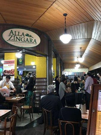 Alla Zingara : Saturday night