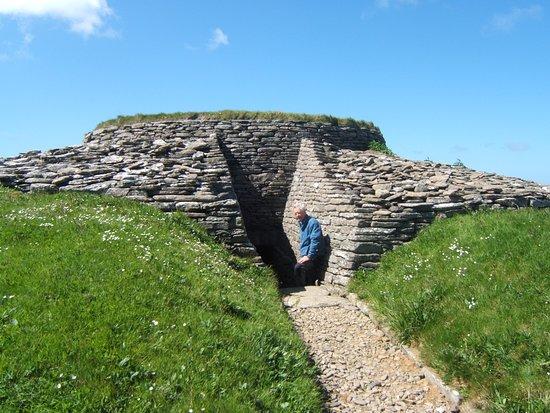 Сандей, UK: Quoyness Cairn