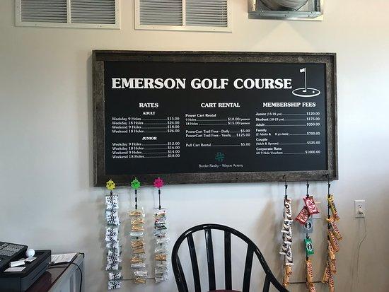 Emerson Golf Course