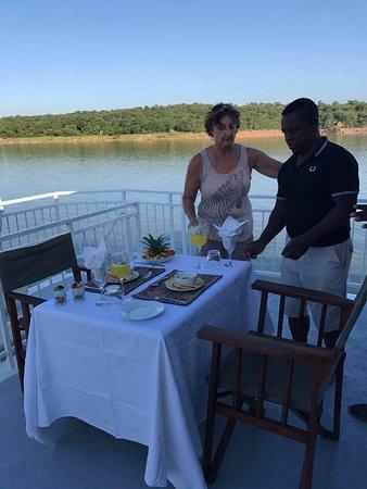 Lake Kariba, Zimbabwe: consistent training and updated seasonal menus