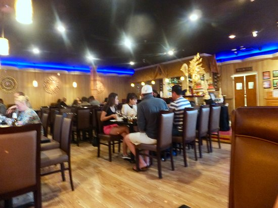 Interior of My Thai & Noodle