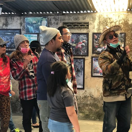 Kaliurang, Indonesien: Petilasan Mbah Maridjan   Yogyakarta, 17 Juni 2018