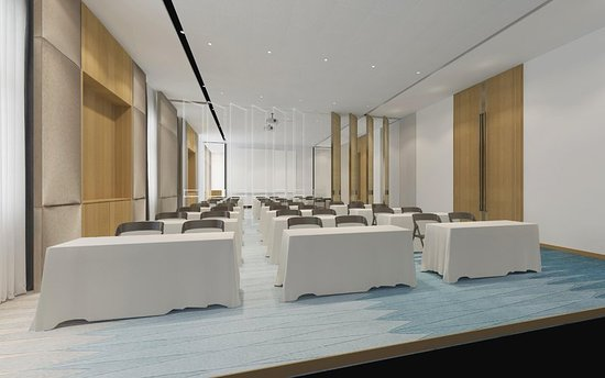 Qidong, China: Meeting room