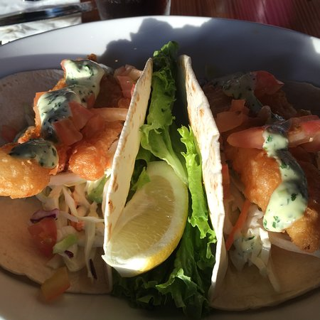 Depoe Bay, Oregon: Catch of the day fish taco