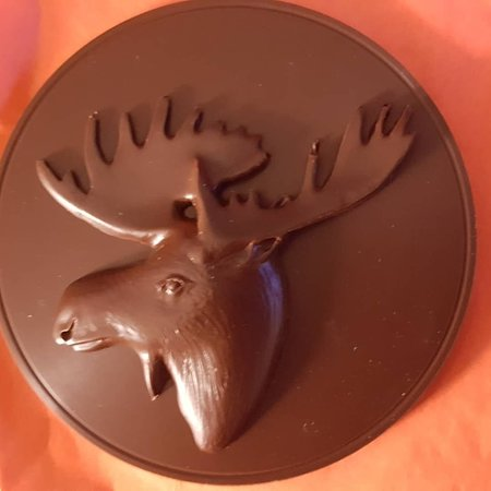 Old Dutch Guys Chocolate: Moose medallion $15