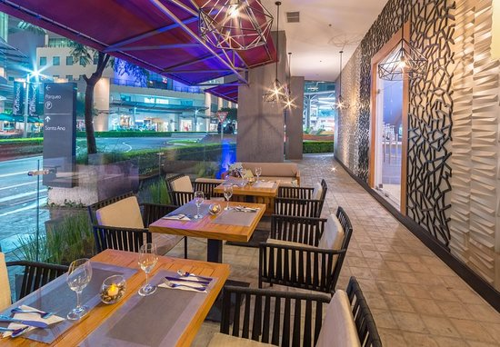 San Rafael de Escazu, คอสตาริกา: Restaurant