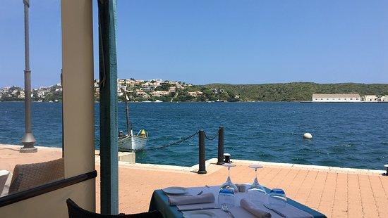 Barcelo Hamilton Menorca: Terraza de restaurante Sa Cova