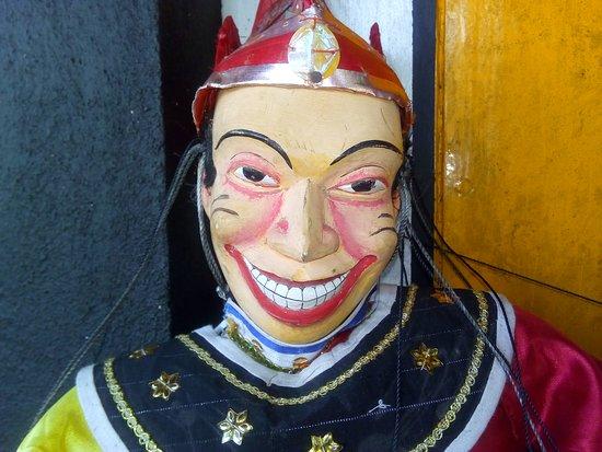 Balapitiya, Sri Lanka: Joker Dance