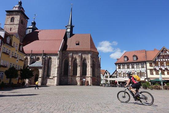 Viba Nougat Welt: Schmalkalden - historische Innenstadt