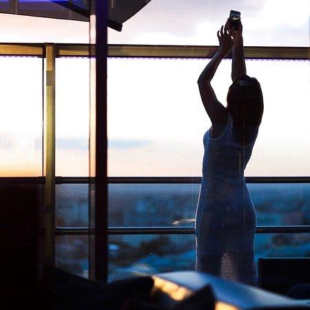 отличное место для панорамных фото с видом на Харьков