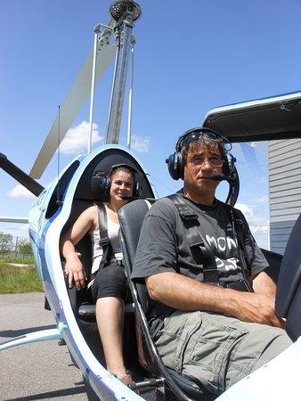 Saint-Etienne-de-Saint-Geoirs, France: Volitude retour d'un vol