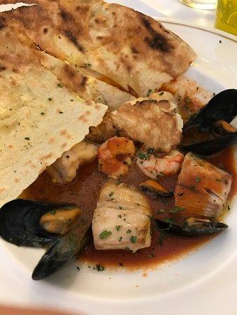 Osteria della Fragoletta: zuppa di pesce