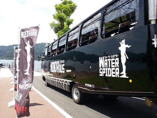 Ninja Bus Water Spider