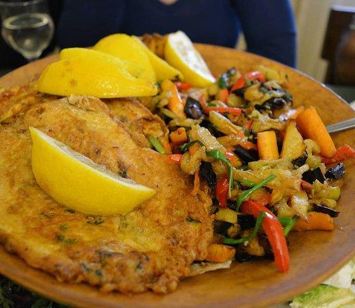 Sevan, أرمينيا: Fish gata