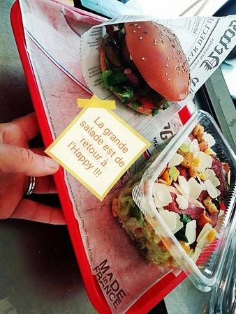 Pontenx-les-Forges, France: Burgers, Salades, Assiettes ...