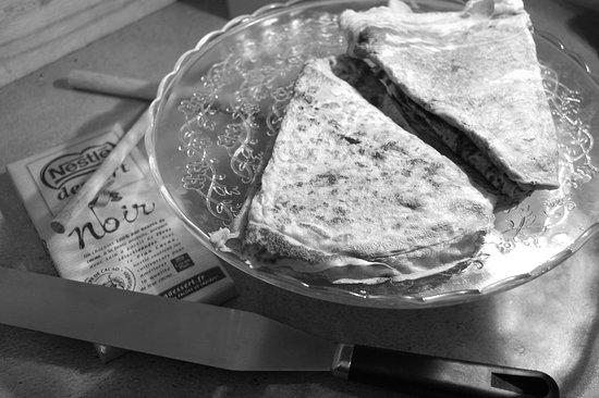 Pontenx-les-Forges, France: Desserts faits maison ou plutôt ... camion