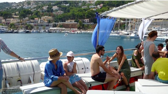 Grau de Gandia, España: excursiones en barco mundo marino gandia
