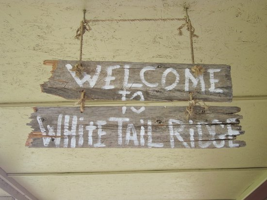 Hermosa, SD: Welcome sign.