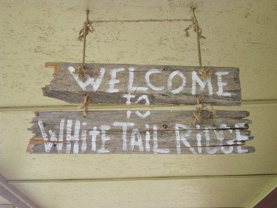 Hermosa, Dakota do Sul: Welcome sign.