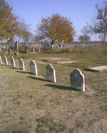 Sulina, Rumunija: Selina cemetery. In the Anglican section