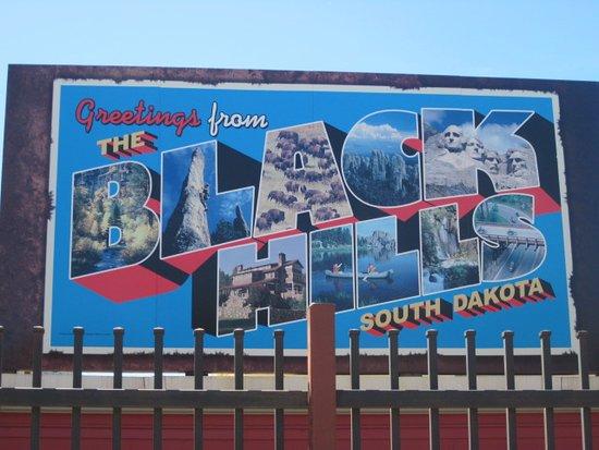 Wall, Güney Dakota: Billboard