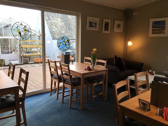 Glenbarr, UK: Cafe seating