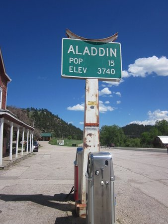 Aladdin, WY: And I thought my hometown was small lol