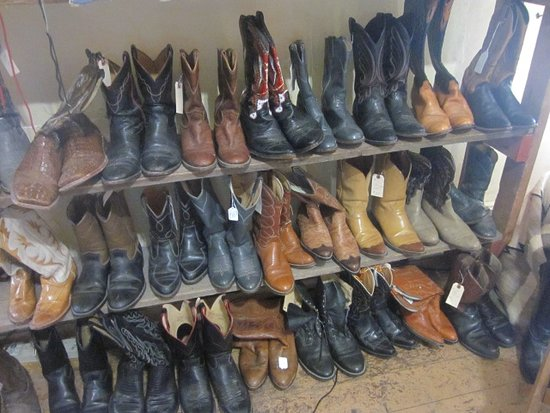 Aladdin, WY: I meant, it wouldn't be the west without boots