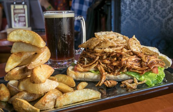 The Clock Pub: Sandwich