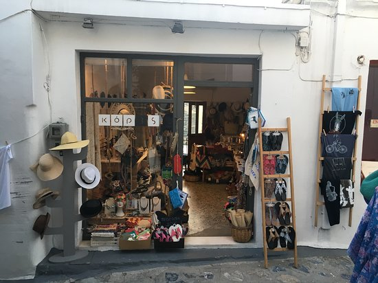 Kores THE shop on Skyros!