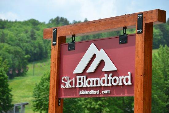Blandford, ماساتشوستس: Ski Blandford Sign