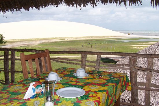 Vila Kalango: vista do café da manhã